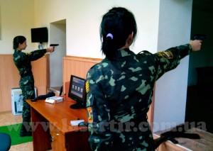 """Лазерный тир """"Стрелок"""" на военной кафедре lasertir.com.ua"""